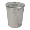 20 Gallon Galvanized Steel Trash Can
