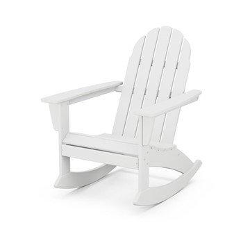 Adirondack Rocking Chair WHT