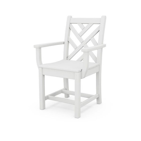 Chippendale Recycled Plastic Dining Chair