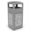 42 Gallon Stainless Steel Intermingle Receptacle with Dome Top