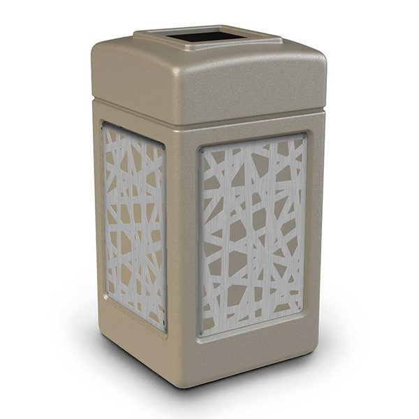 42 Gallon Stainless Steel Intermingle Receptacle with Open Top