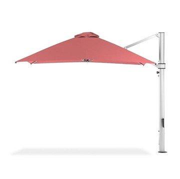 10 Ft. Square Aluminum Preminum Cantilever Umbrella with Marine Grade Fabric
