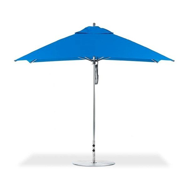 10 Ft. Square G-Series Monterey Market Umbrella with Pulley & Pin Vertex Finial