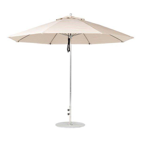 11 foot Diameter Fiberglass Market Umbrella