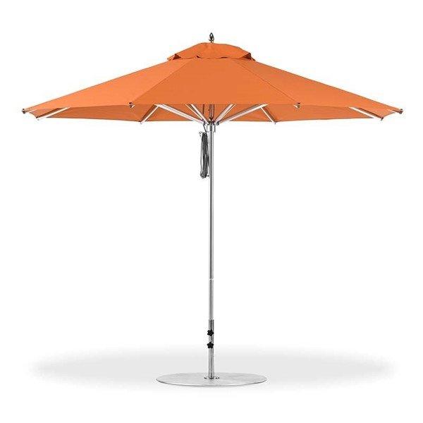 11 Foot Octagonal Aluminum Rib Market Umbrella with Marine Grade Fabric
