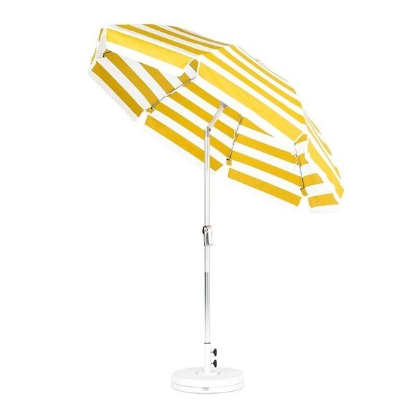 7.5 Foot Commercial Grade Patio Tilt Umbrella with Marine Grade Fabric