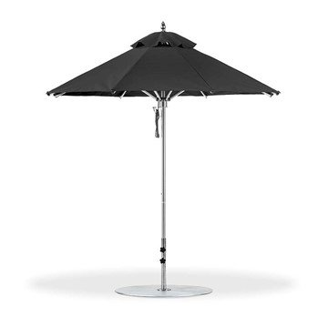 7.5 Foot Octagonal Aluminum Rib Market Umbrella with Marine Grade Fabric