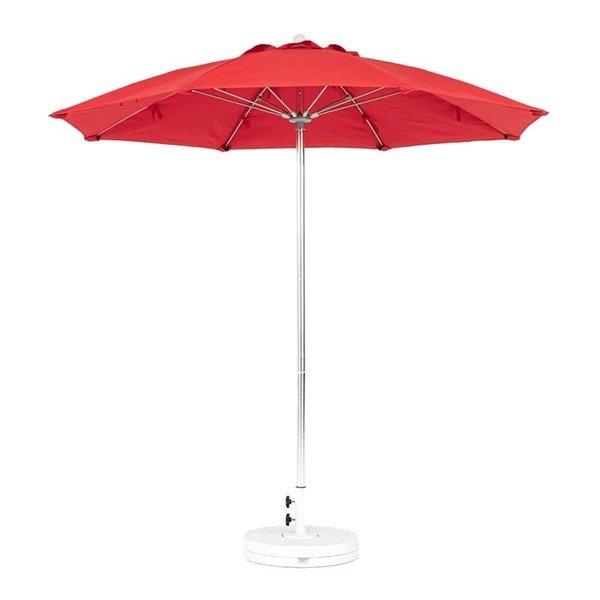 7.5 foot Diameter Fiberglass Patio Umbrella, Market Style with Marine Grade Canopy
