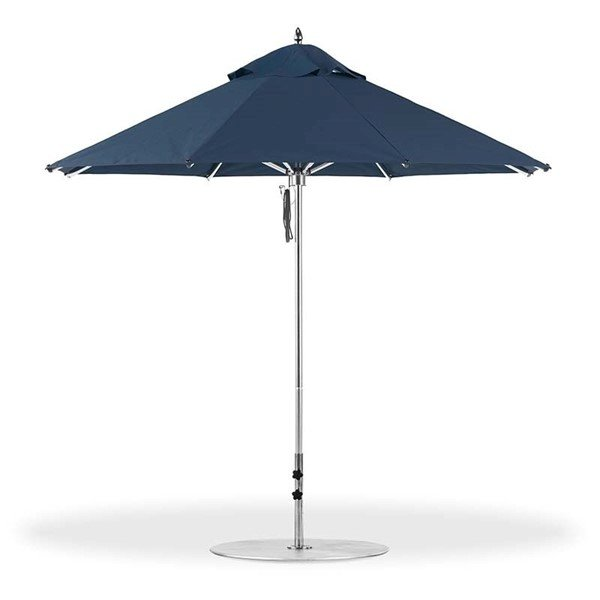 9 Foot Octagon Aluminum Rib Market Umbrella with Marine Grade Fabric