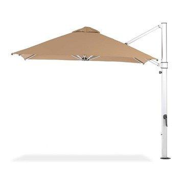 9 ft. Square Crank Lift Aluminum Cantilever Umbrella with Marine Grade Fabric