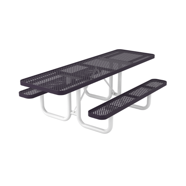 Steel Picnic Table with Double Side Wheelchair Access