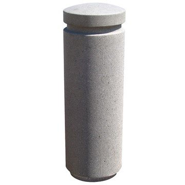 Dome Top Concrete Bollard With Reveal Line