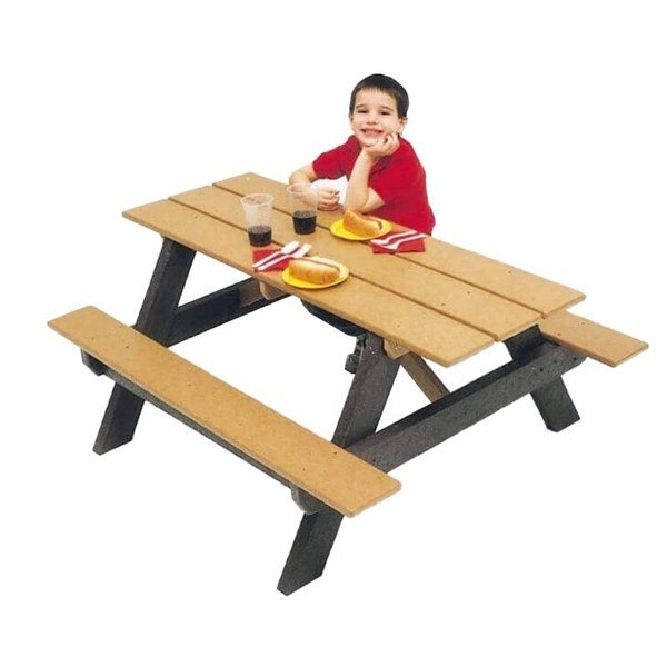 4 Ft. Recycled Plastic Children's Picnic Table