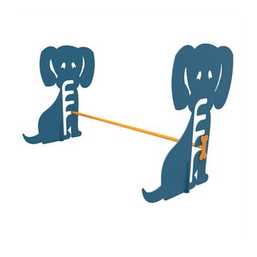 Dog N' Play Park Hurdle, Galvanized Steel