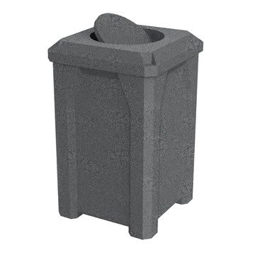 32 Gallon Plastic Receptacle with Bug Barrier Lid