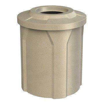 42 Gallon Round Plastic Receptacle