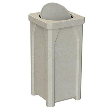 22 Gallon Plastic Receptacle with Bug Barrier Lid