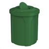 42 Gallon Plastic Round Trash Receptacl