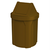 42 Gallon Plastic Receptacle with 2 Way Swing Lid & Liner