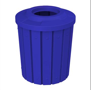 42 Gallon Plastic Receptacle - Granite