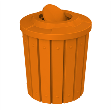 42 Gallon Plastic Receptacle with Bug Barrier Lid & Line